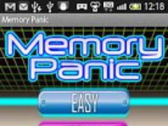 Memory Panic 1.0 Screenshot