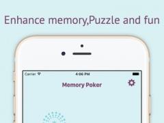Memory Poker - Simple&Cognitive flop game for kids 1.1 Screenshot