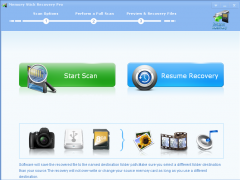 Memory Stick Recovery Pro 2.7.5 Screenshot