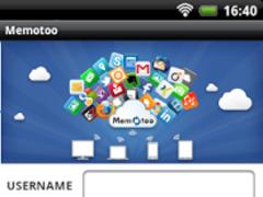 Memotoo sync 10.1.3.7 Screenshot