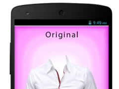 Men Formal Shirt Photo Editor 1.0.1 Screenshot