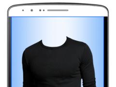 Men Long Sleeves T-Shirt Maker 1.0 Screenshot