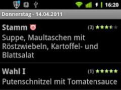 Mensa Konstanz (HTWG / Uni) 1.17 Screenshot