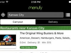 Menufy Online Food Delivery & Take-out 1.35 Screenshot