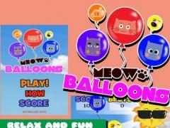 Meow Balloons 1 Screenshot