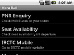 Mera Rail 1.1 Screenshot