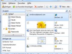 Hot Copy Paste fr Zwischenablage 7.1 Screenshot