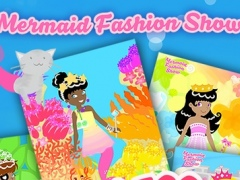 Mermaid Fashion Show - Dress Up a Mermaid Princess Paper Doll in this Dressup Game for Girls! 3.5 Screenshot