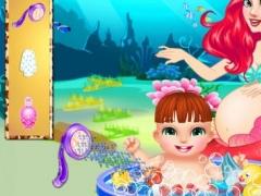 Mermaid Prince's Ocean Salon - Sugary Manager/Magic Resort 1.0.1 Screenshot