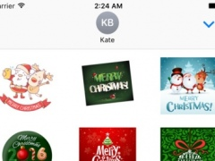 Merry Christmas Stickers 1.0 Screenshot