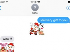Merry Xmas Stickers for iMessage 1.0 Screenshot