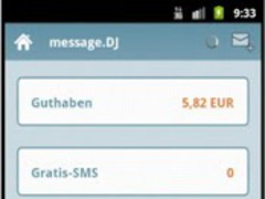 message.DJ - 6ct SMS worldwide 1.0.8 Screenshot