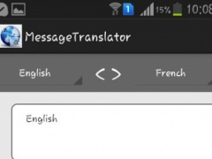 Message Translator 2.4.3 Screenshot