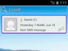 Message Widget (SMS/MMS) 0.2.4 Screenshot