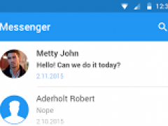 Messenger for Android™ 2.2 Screenshot