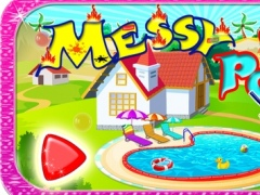 Messy Pool Wash - Cleanup & repair the pool in this salon game for kids 1.0 Screenshot