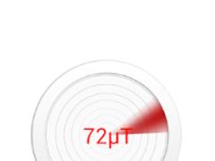 Metal Detector app 1.3 Screenshot