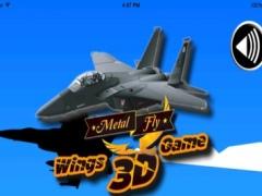 Metal Fly Wings 3D Game 3.5.1 Screenshot