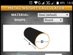 Review Screenshot - Calculating Weight of Different Metals Was Never This Easy