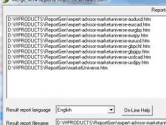 MT4 Report Combine Forex Software 2.0 Screenshot