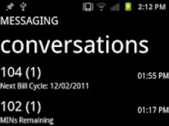 Metro Messaging Lite 1.3.2 Screenshot