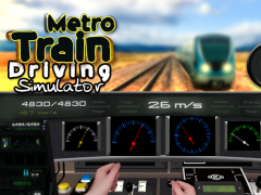Metro Train Driving Simulator 1.0 Screenshot