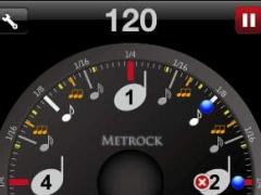 Metrock Keep tempo 120 1.0 Screenshot