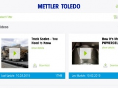 METTLER TOLEDO Library App 1.3.3 Screenshot