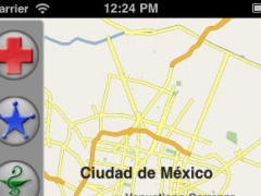 Mexico City, True Emergency Maps 1.0 Screenshot