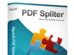 Mgosoft PDF Spliter Command Line 9.1.8 Screenshot