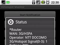 mHotspot Monitor 1.2.5 Screenshot