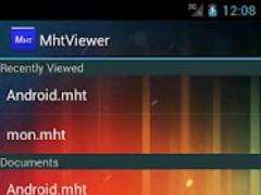 MhtViewer 1.0.9 Screenshot