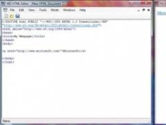 MI3 HTML Editor 1.0 Screenshot