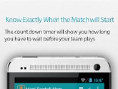 Miami Football Alarm Pro 1.0 Screenshot