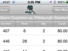 Miami Tickets 1.8 Screenshot