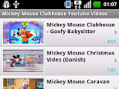 mickey mouse clubhouse videos 11 screenshot - Youtube Mickey Mouse Christmas