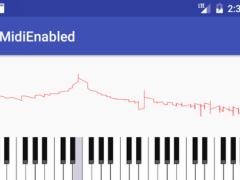 Midi Enabled - Midi Guitar 1.3 Screenshot