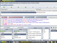 MightyQuery 1.0.9 Screenshot
