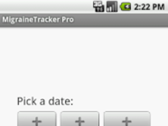 MigraineTracker Pro 1.0.1 Screenshot