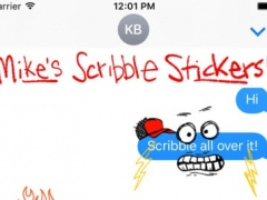 Mike's Notebook Scribble Stickers 1.0.1 Screenshot