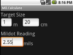 Mil.Calculate 1.2 Screenshot