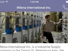 Milena International Inc. 1.1 Screenshot
