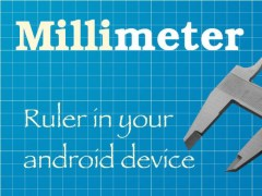 Millimeter - screen ruler app 2.1.1 Screenshot