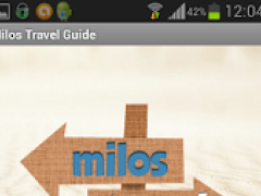 Milos Travel Guide 1.10 Screenshot