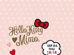 mimo.×HELLO KITTY LWallpaper 1.1 Screenshot