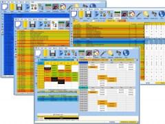 Mimosa Scheduling Software Freeware 7.1.2 Screenshot