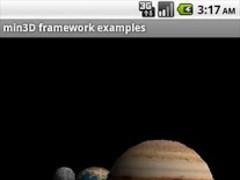 min3D framework examples 27 Screenshot