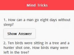 Mind Tricks Questions 1.0.0 Screenshot