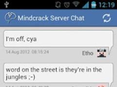 Mindcrack Server Chat 2.0 Screenshot