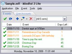 Mindful Lite 2.2.0.0 Screenshot